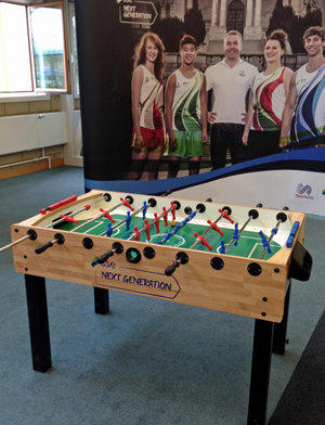 football table hire