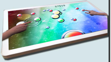 multi touch table hire