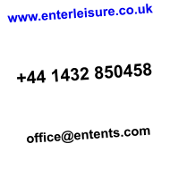 www.enterleisure.co.uk    +44 1432 850458    office@entents.com